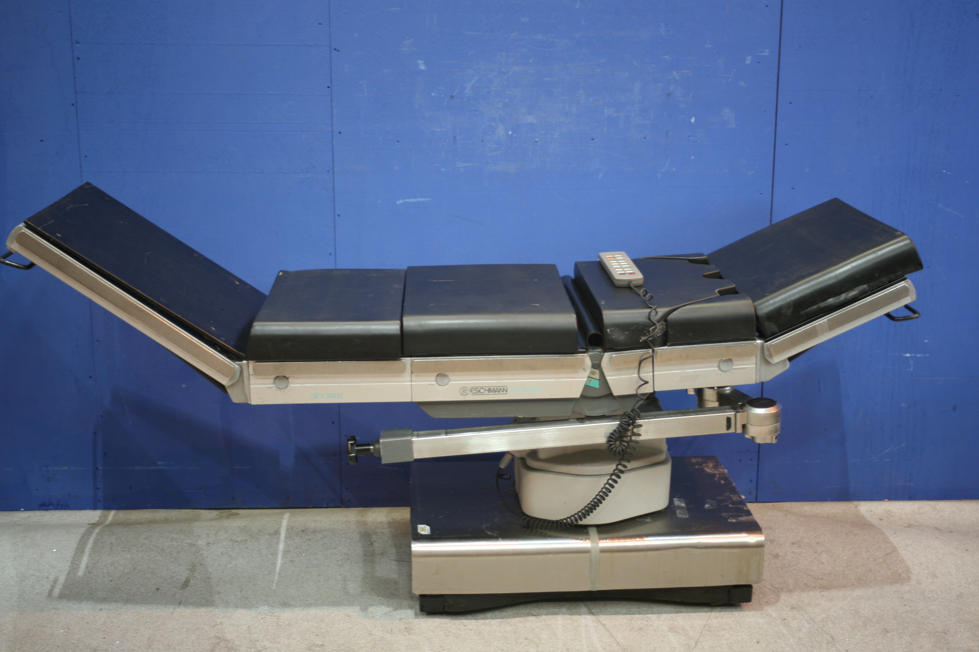 Lot 291 - Eschmann RX 500 Operating Table *With Remote Control And Mattress* (Tested Working)