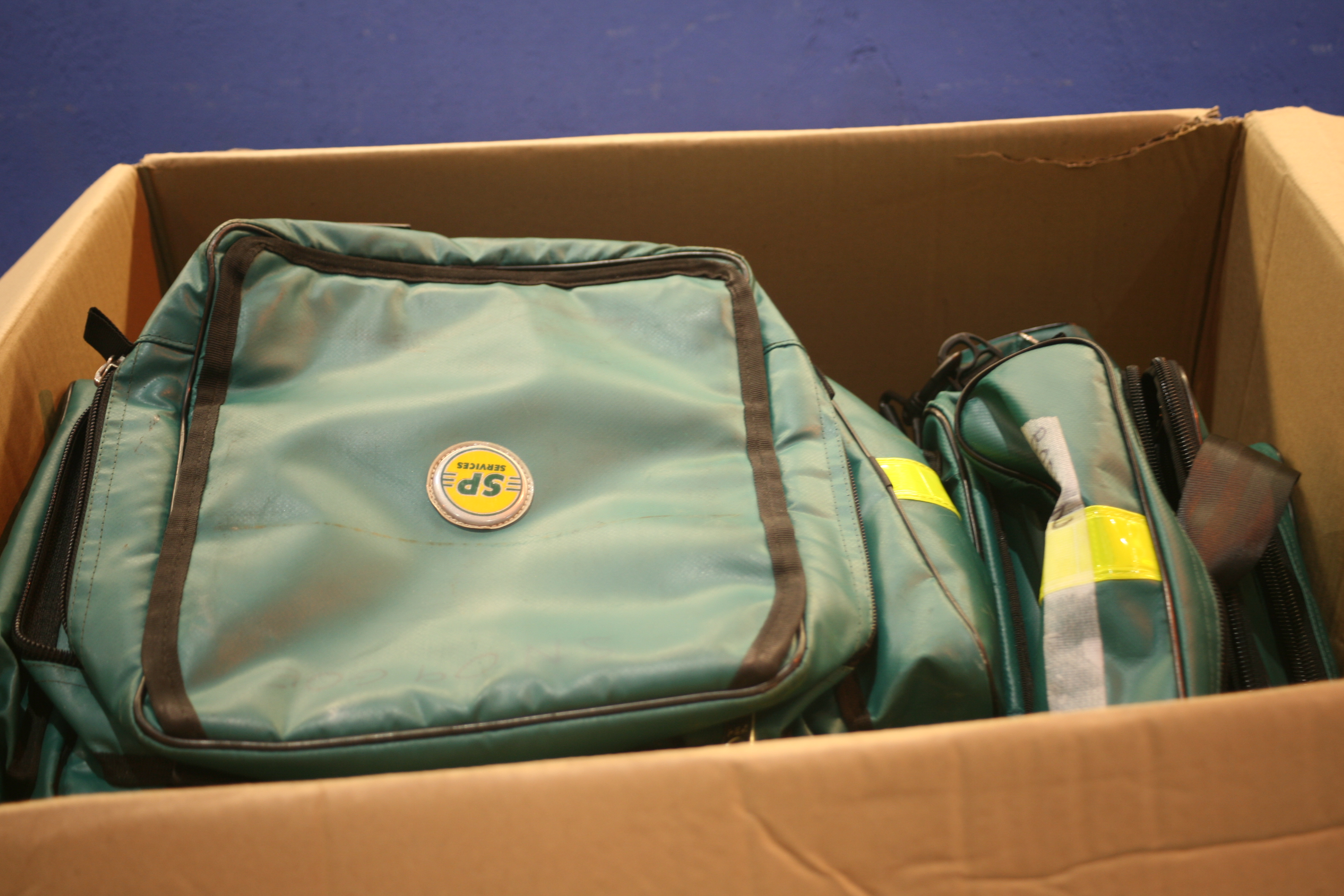 Lot 142 - Job Lot Of SP Services Bags *Various Conditions*