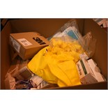 Lot 156 - Job Lot Of Various Consumables Including Microgard Micro Porous Protective Overalls,
