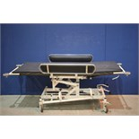 Lot 120 - Medi Plinth Hydraulic Patient Couch *Tested Working*