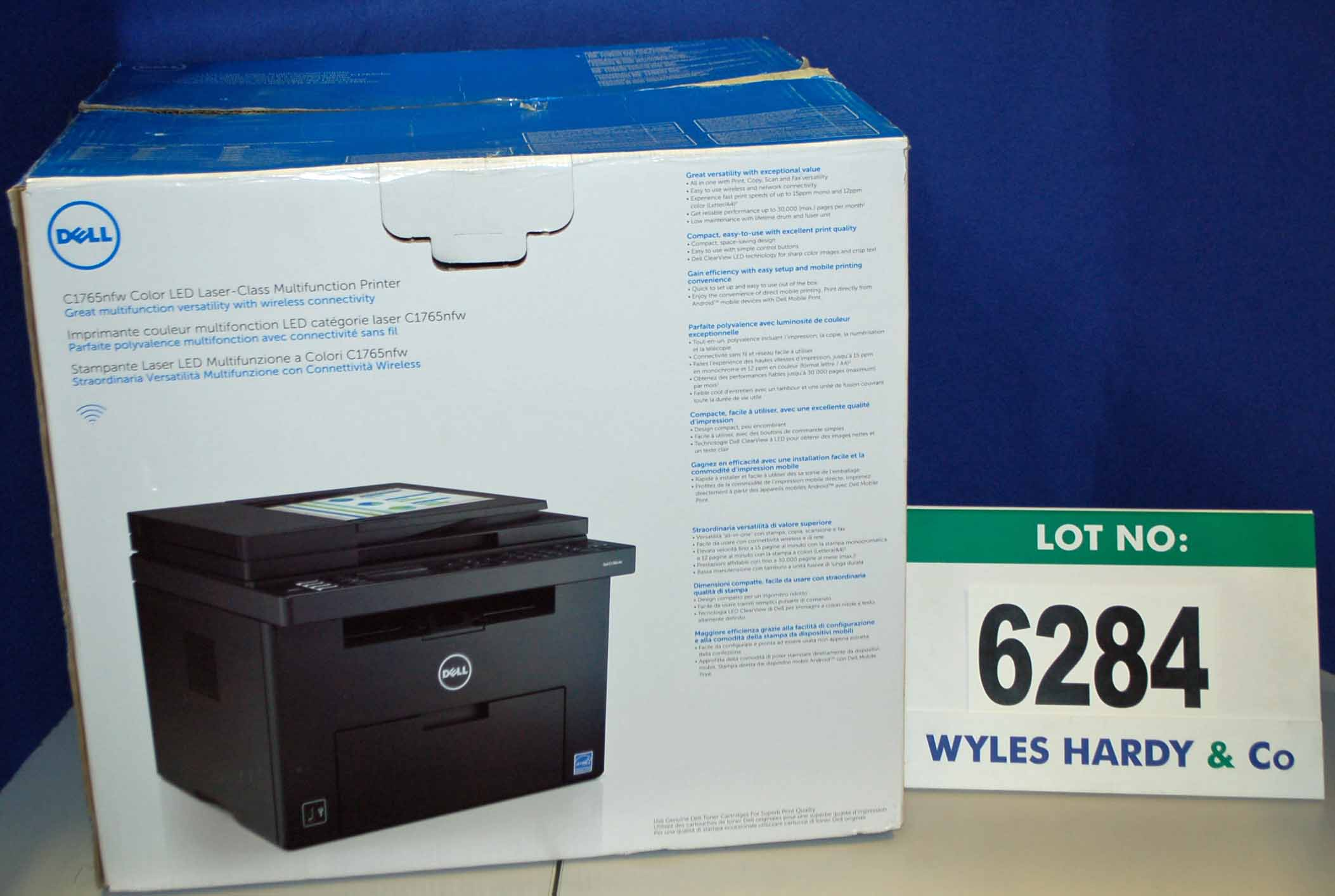 Dell colour printer 725