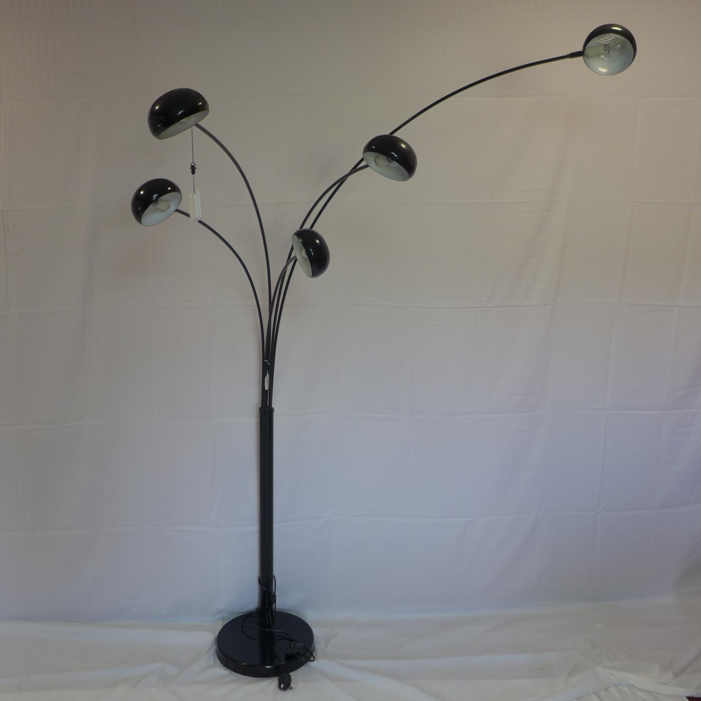 Lot 518 - A 'Giraffe' 5 light standard lamp