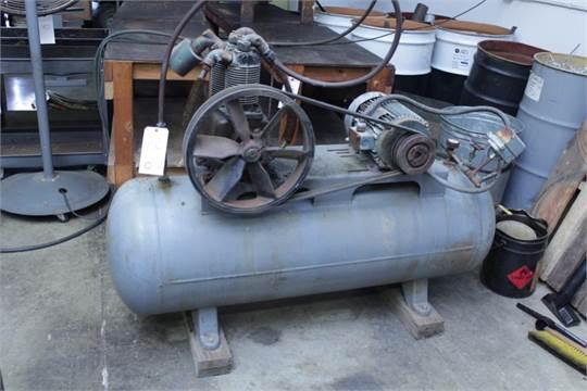 dayton speedaire 3z188 5 hp horizontal air compressor serial mbi rh bidspotter com