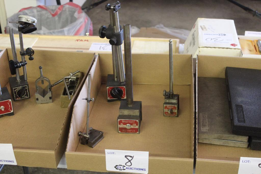 Lot 8 - Magnetic indicator Stands