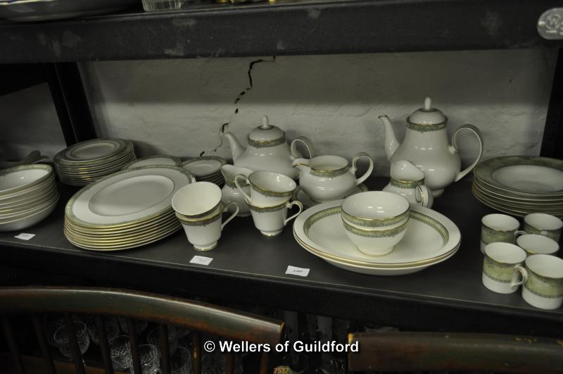 Lot 7537 - Royal Doulton Isabella part dinner, tea and coffee service.