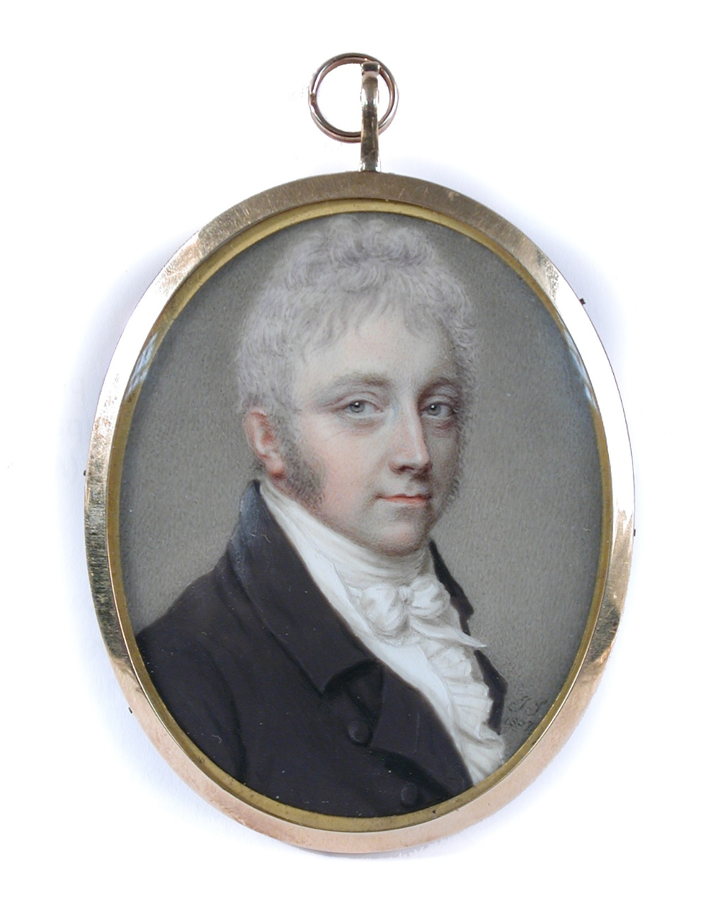 Lot 474 - John Smart (British, 1741-1811) Portrait miniature of a Gentleman, traditionally thought to be