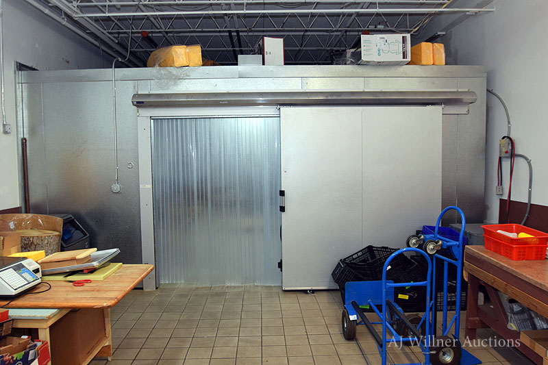 "Lot 12 - Walk-In Refrigerated Box, Approximately 18'-6""x29'-6""x8'-10"" high"