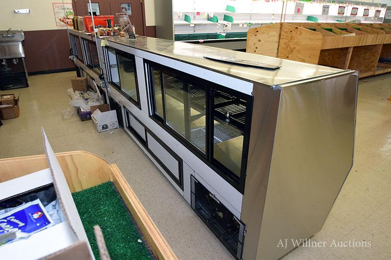 "Lot 26 - Coolman Refrigerated, Slant Front Deli Case, 10'x42"""