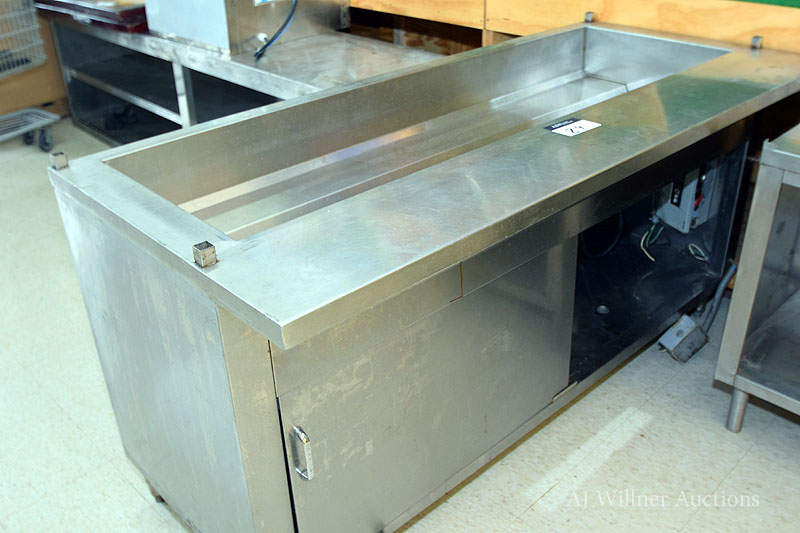 """Lot 29 - Stainless Steel Electric Steam Table, 32""""x72"""""""