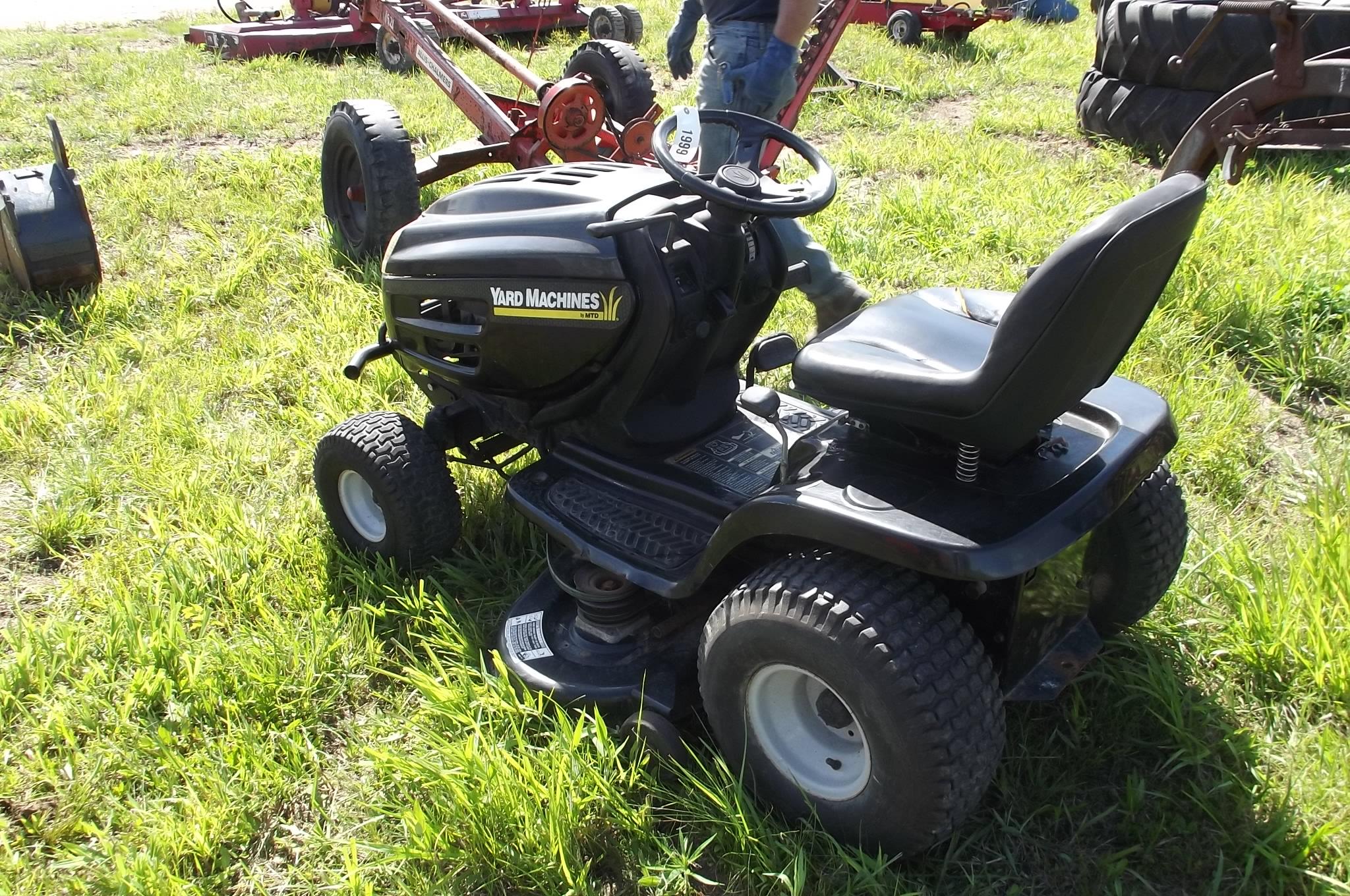 2000 yard machine mower