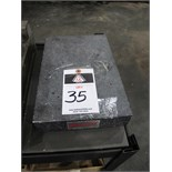 "Starrett 8"" x 12"" x 2"" Granite Surface Plate"