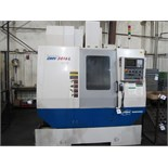 2006 Doosan Daewoo DMV3016L CNC Vertical Machining Center s/n NM4100369 w/ Fanuc Series 0i-MB