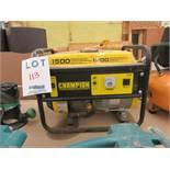 CHAMPION 1500 watts generator