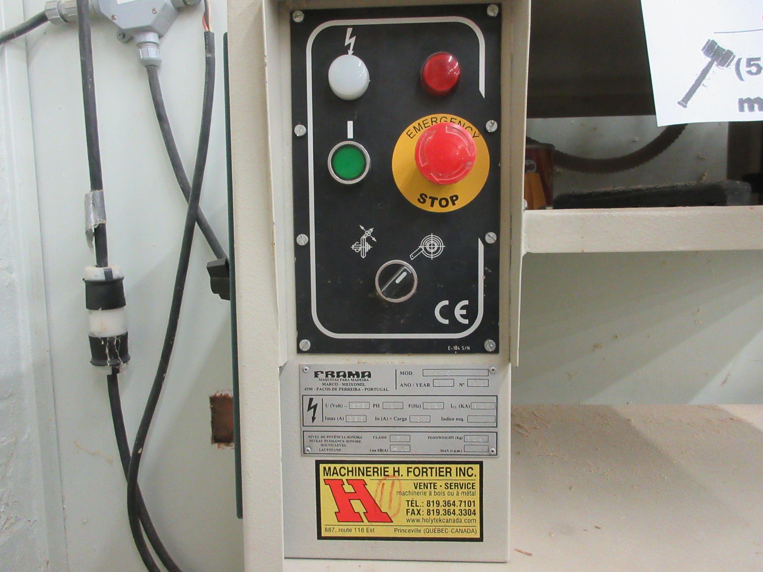 FRAMA grinder/sharpener, Mod: ATC, 600 volts - Image 2 of 6