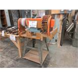 Double drum sander/buffer, 220 volts