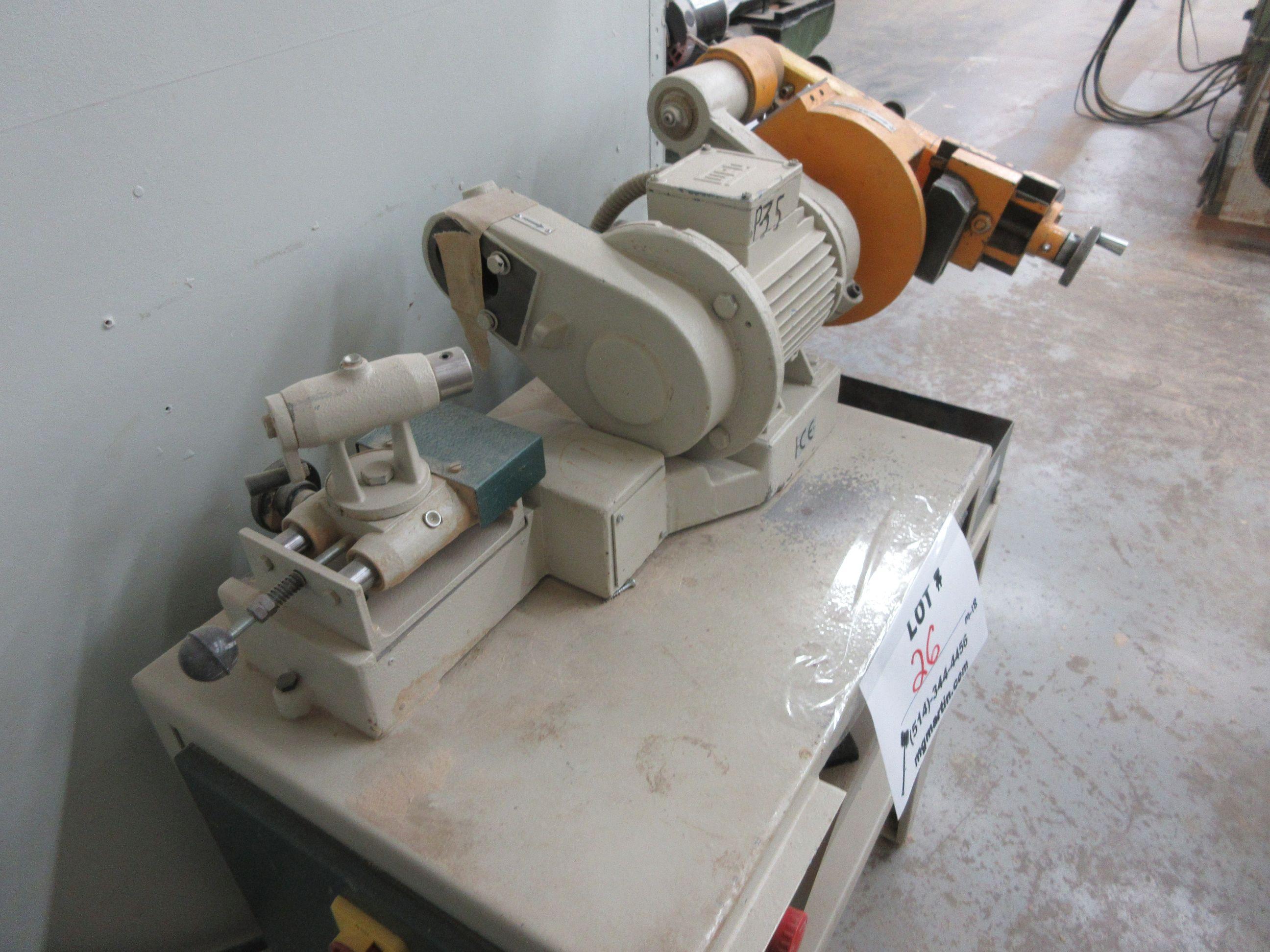 FRAMA grinder/sharpener, Mod: ATC, 600 volts - Image 6 of 6