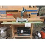 MAKITA miter saw, Mod: LS1018L c/w work table