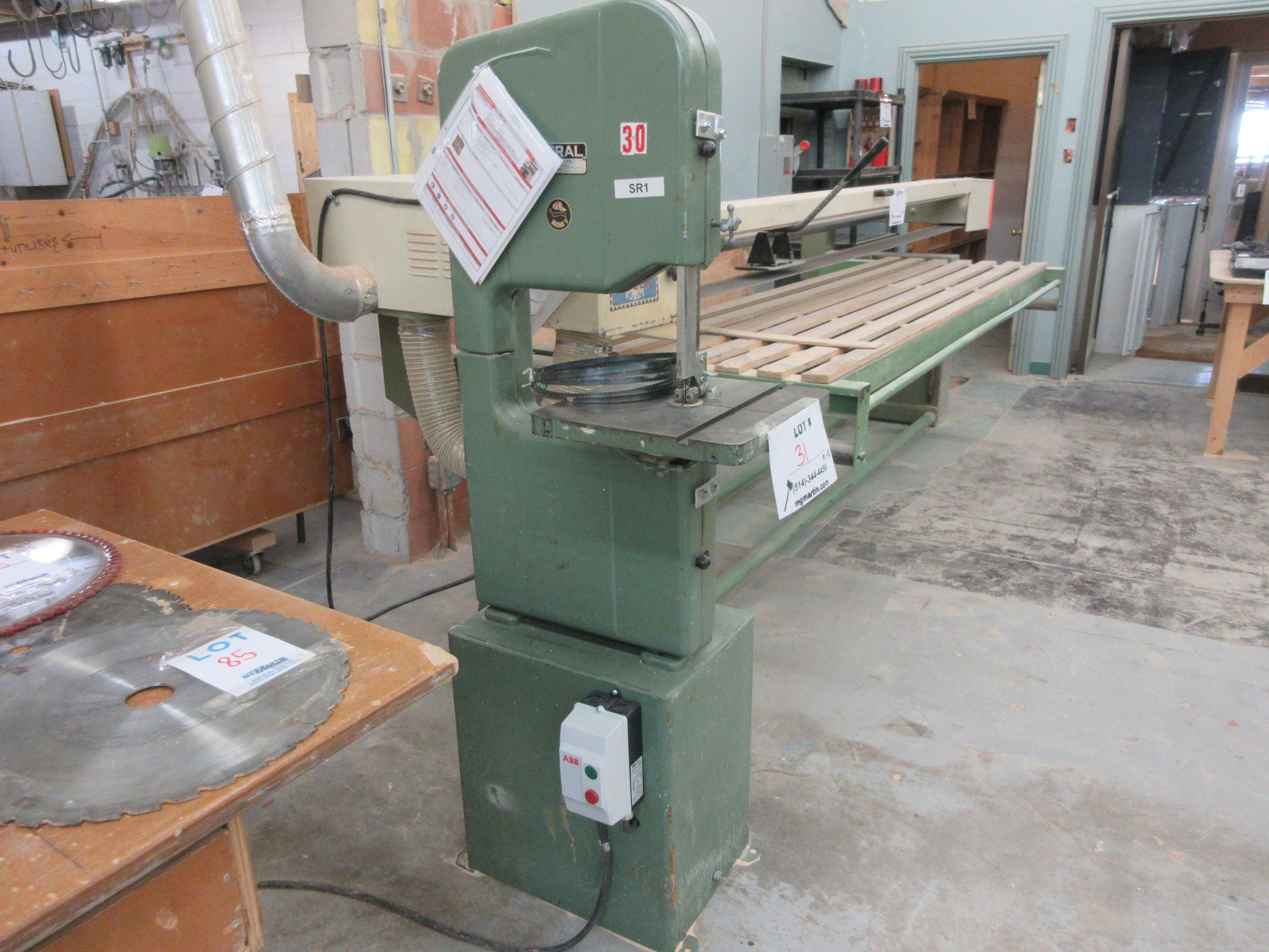 """GENERAL 14"""" band saw, Mod: 490, 220 volts - Image 2 of 2"""