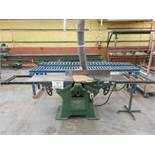 "WADKIN jointer 15"", Mod: 610, 5 HP, 600 volts"