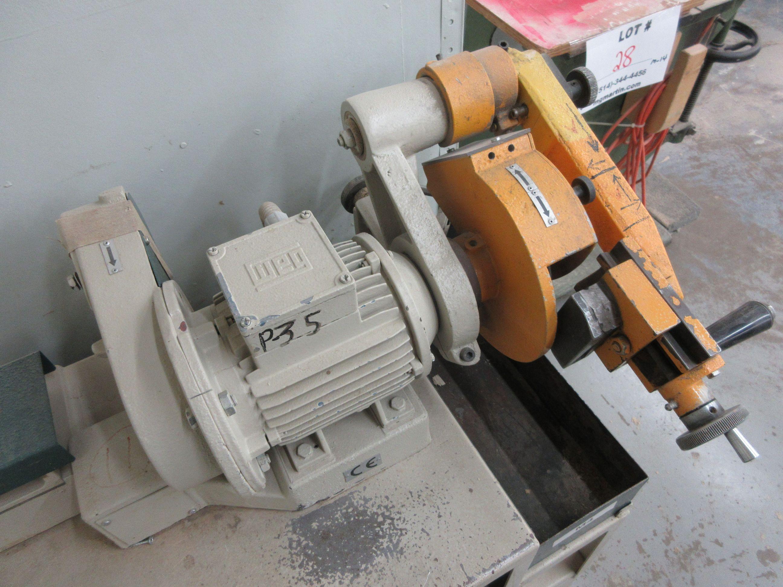 FRAMA grinder/sharpener, Mod: ATC, 600 volts - Image 3 of 6