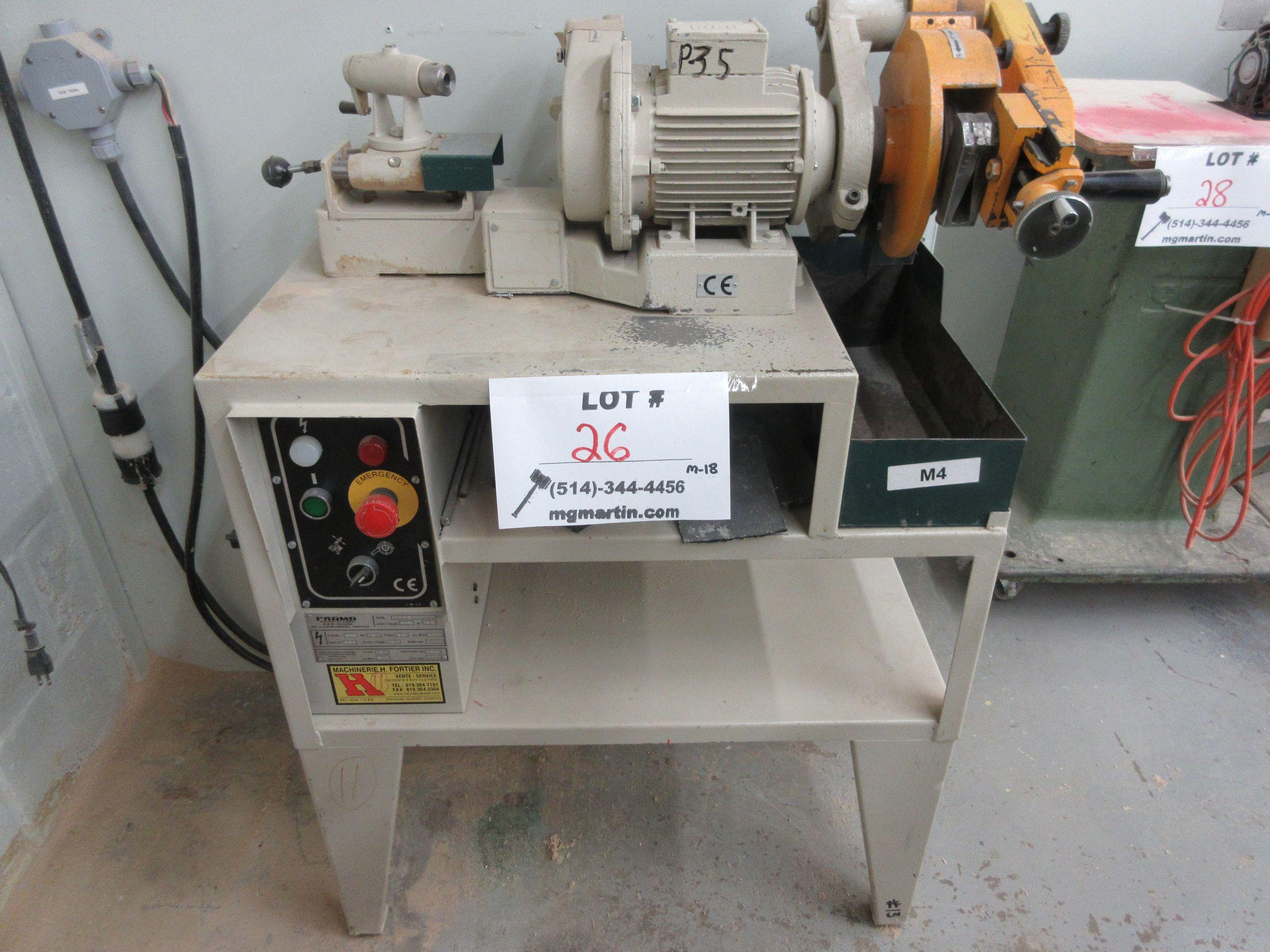 FRAMA grinder/sharpener, Mod: ATC, 600 volts