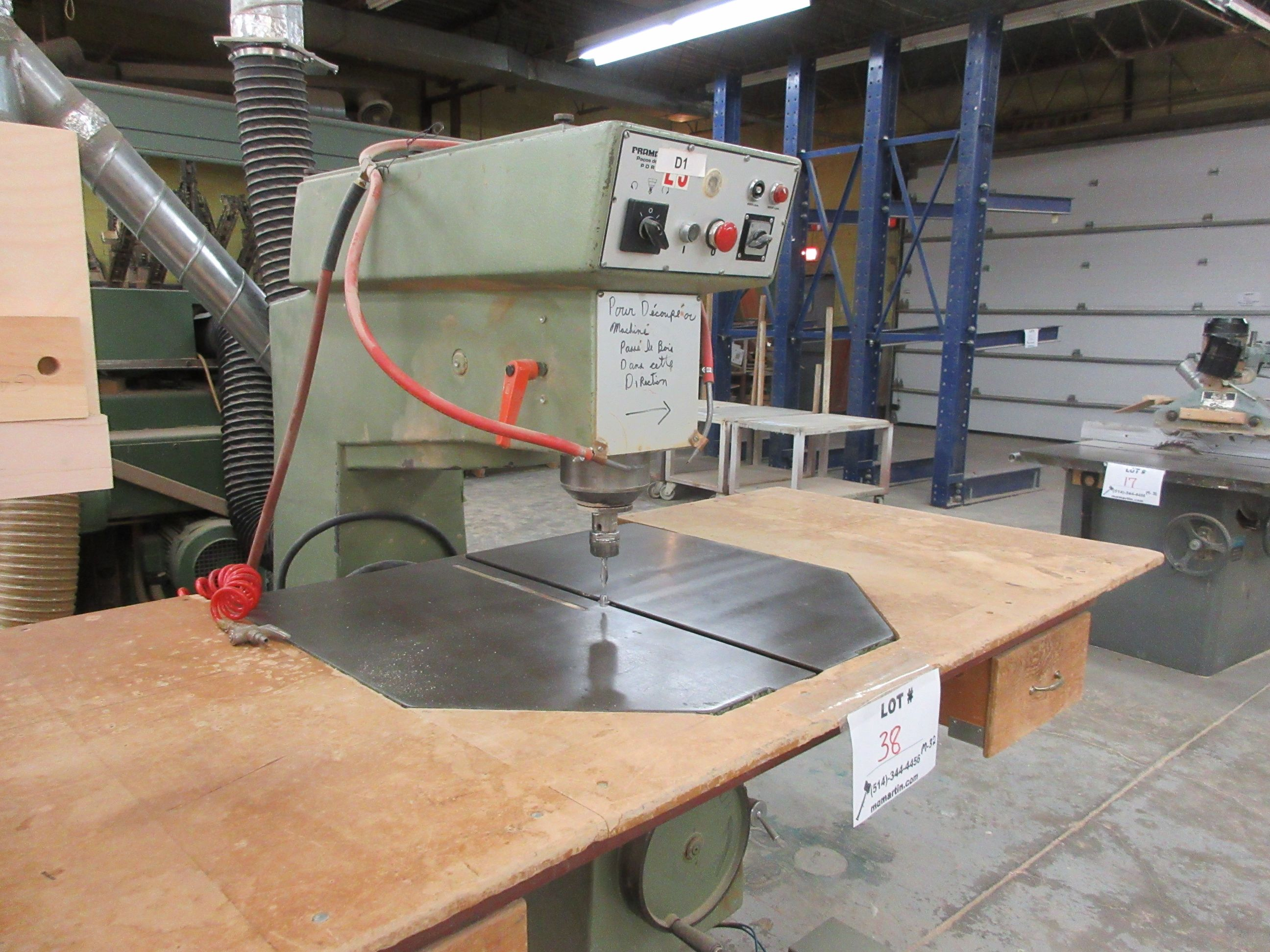 FRAMA overhead router, Mod: R-600, 600 volts (SUBJECT TO BANK APPROVAL) - Image 2 of 3