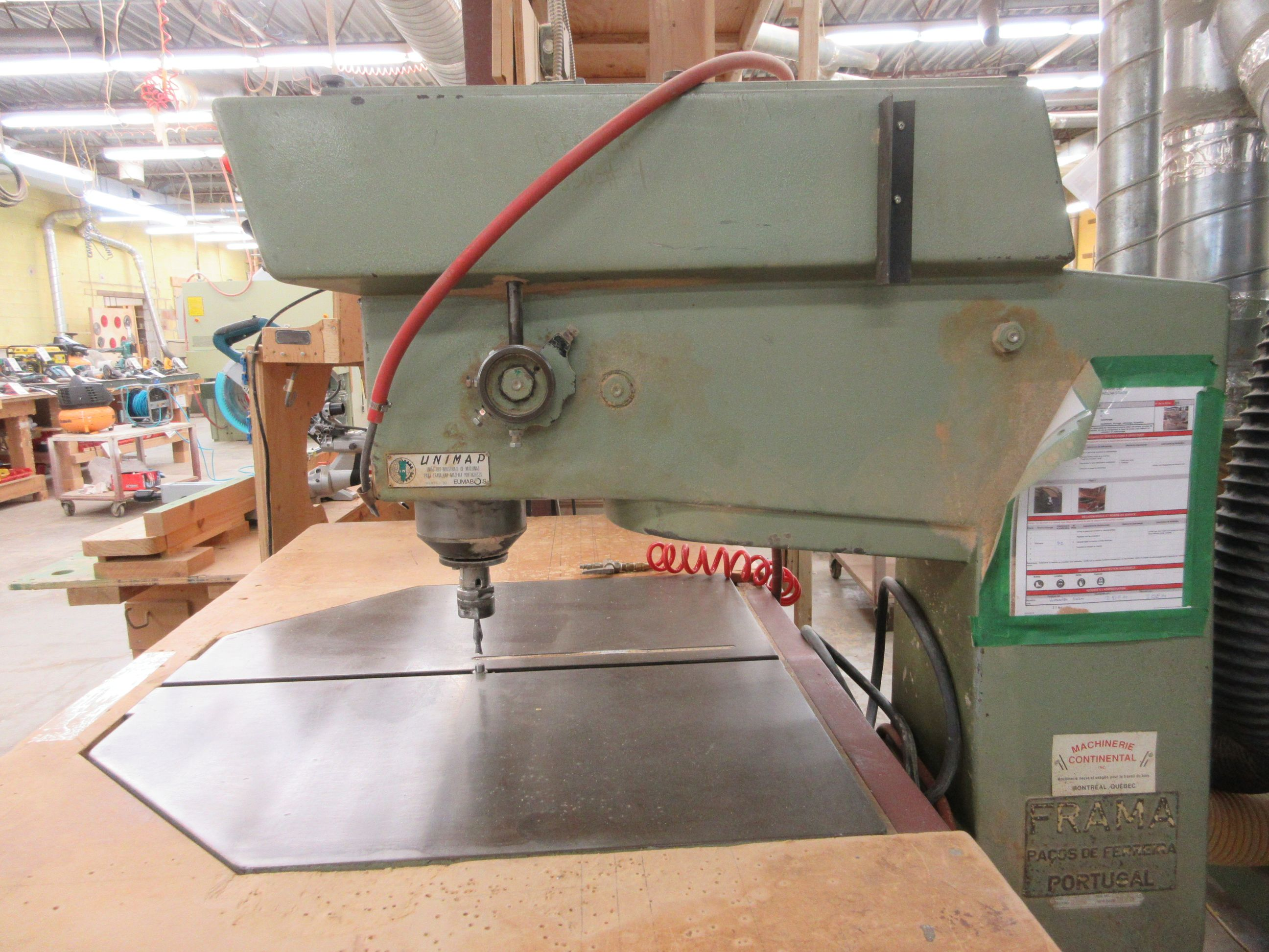 FRAMA overhead router, Mod: R-600, 600 volts (SUBJECT TO BANK APPROVAL) - Image 3 of 3