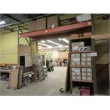 """Section of industrial racking 13ft W x 42"""" D x 12ft H (1) (SUBJECT TO BANK APPROVAL)"""