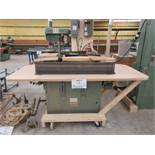 PROGRESS 4ft edge sander, 600 volts