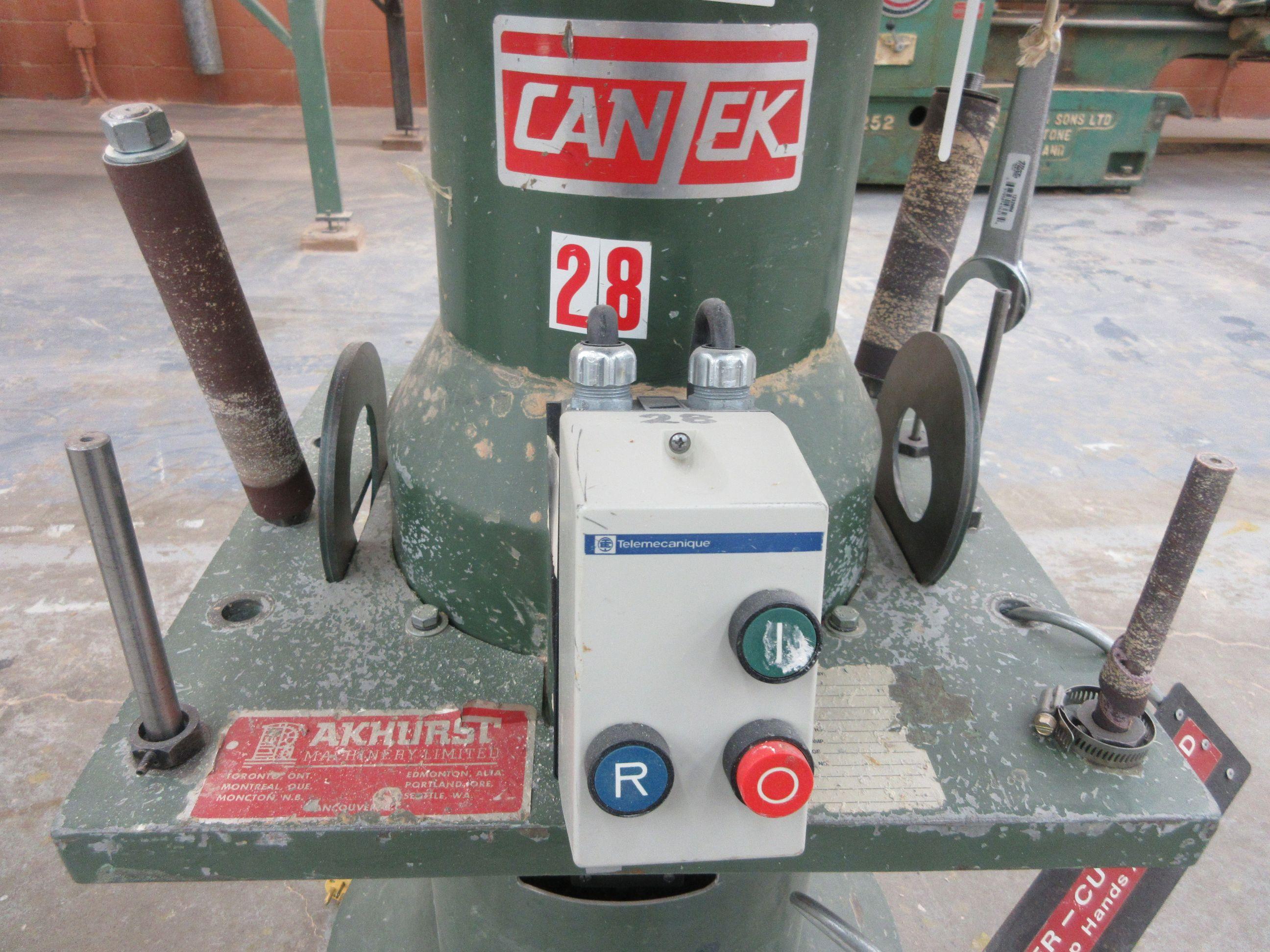 """CANTEK oscillating 9"""" sander, 600 volts - Image 4 of 4"""