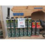 All purpose foam sealant, etc. (8)