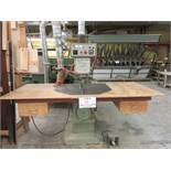 FRAMA overhead router, Mod: R-600, 600 volts (SUBJECT TO BANK APPROVAL)