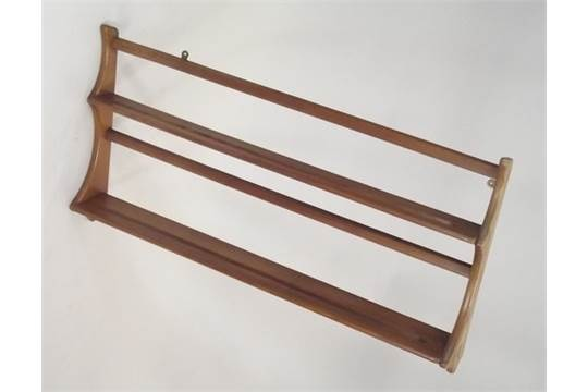 ERCOL PLATE RACK. An Ercol light elm wall hanging plate rack. Height 50cm. Width 96cm. PLEASE NOT  sc 1 st  The Saleroom : ercol plate rack - pezcame.com
