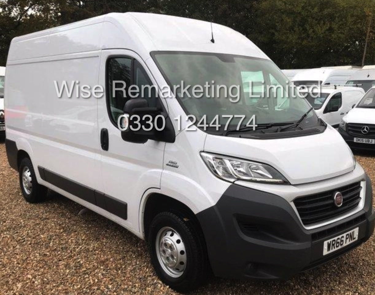 Lot 1 - **RESERVE MET** FIAT DUCATO 35 *PANEL VAN* EURO 6 - AD BLUE (2017) 2.0 DIESEL - 115 BHP - 6 SPEED
