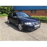 AUDI A3 S LINE 2.0 TDI 140BHP - SERVICE HISTORY - LEATHER INTERIOR - 2008