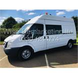 FORD TRANSIT LWB *CLARKS CONVERSION -MESSING UNIT* (62 REG) '2.2 TDCI - 6 SPEED' (ONLY 14,000 MILES)