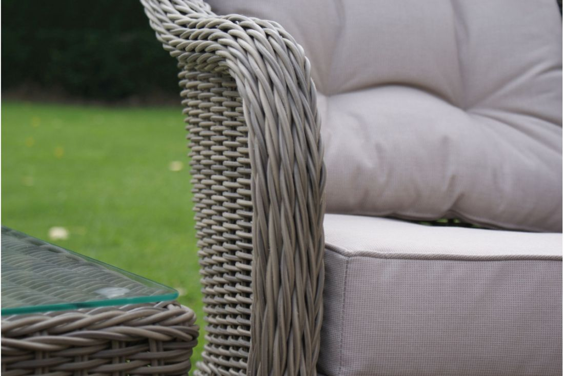 Lot 38 - Rattan Winchester 3 Piece Outdoor/Conservatory Lounge Set *BRAND NEW*