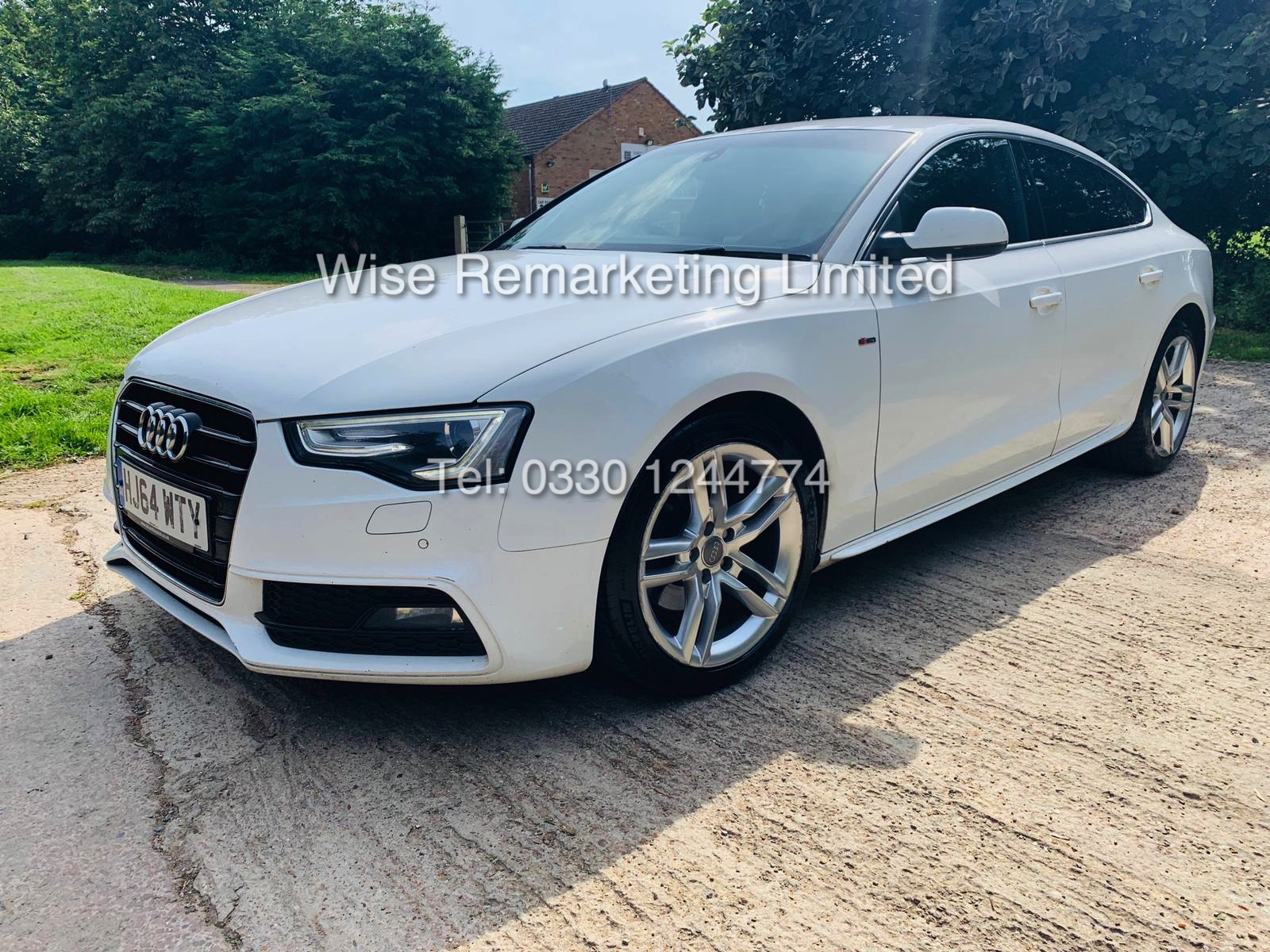 **RESERVE MET**AUDI A5 2.0 TDI ULTRA S LINE 5DR 2015 MODEL **WHITE** FULL HISTORY- 1 OWNER - Image 3 of 29