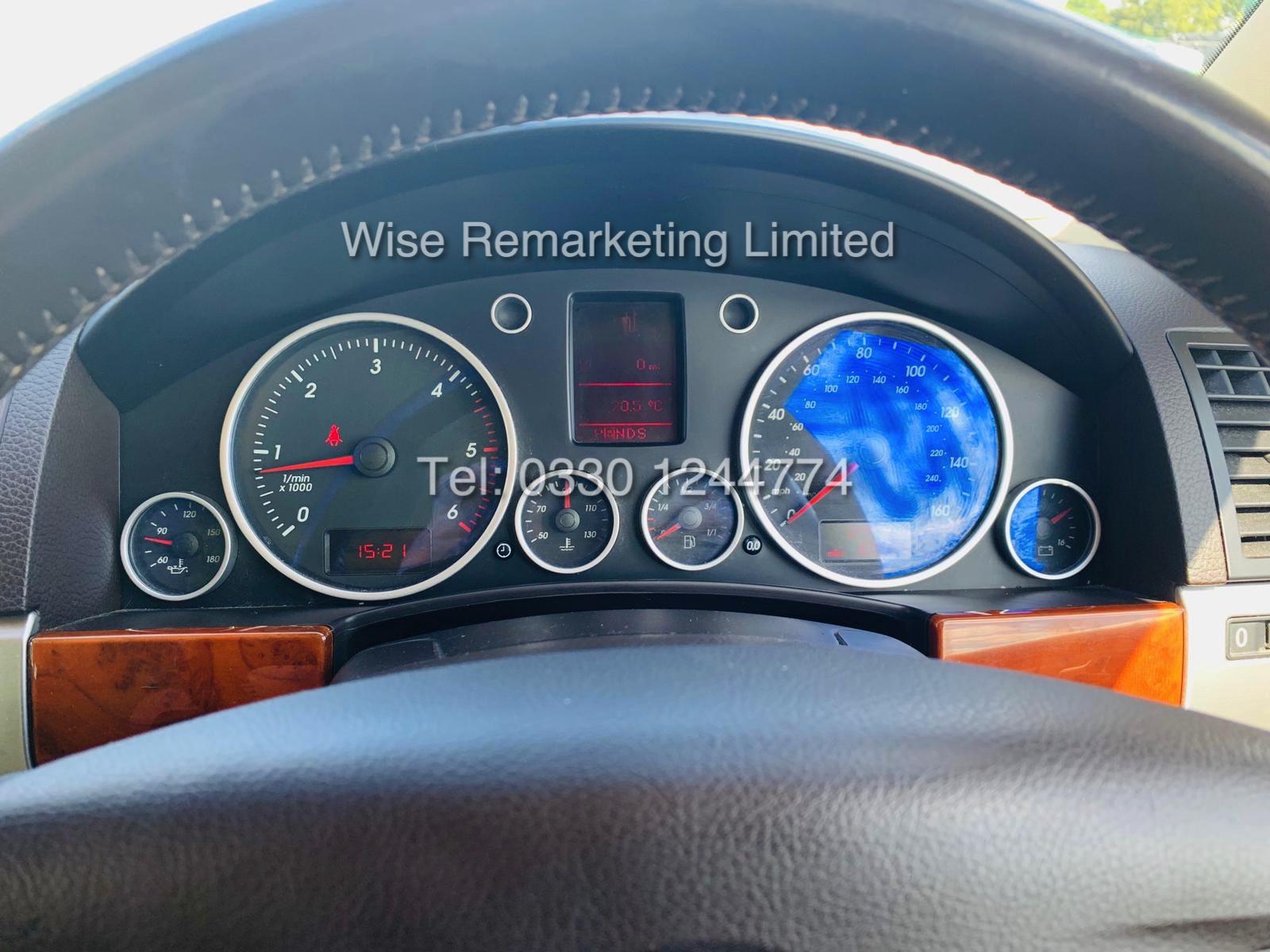 VOLKSWAGEN TOUAREG 2.5 TDI SPORT AUTO 2004 REG 4x4 BLACK - CREAM LEATHER - Image 17 of 24