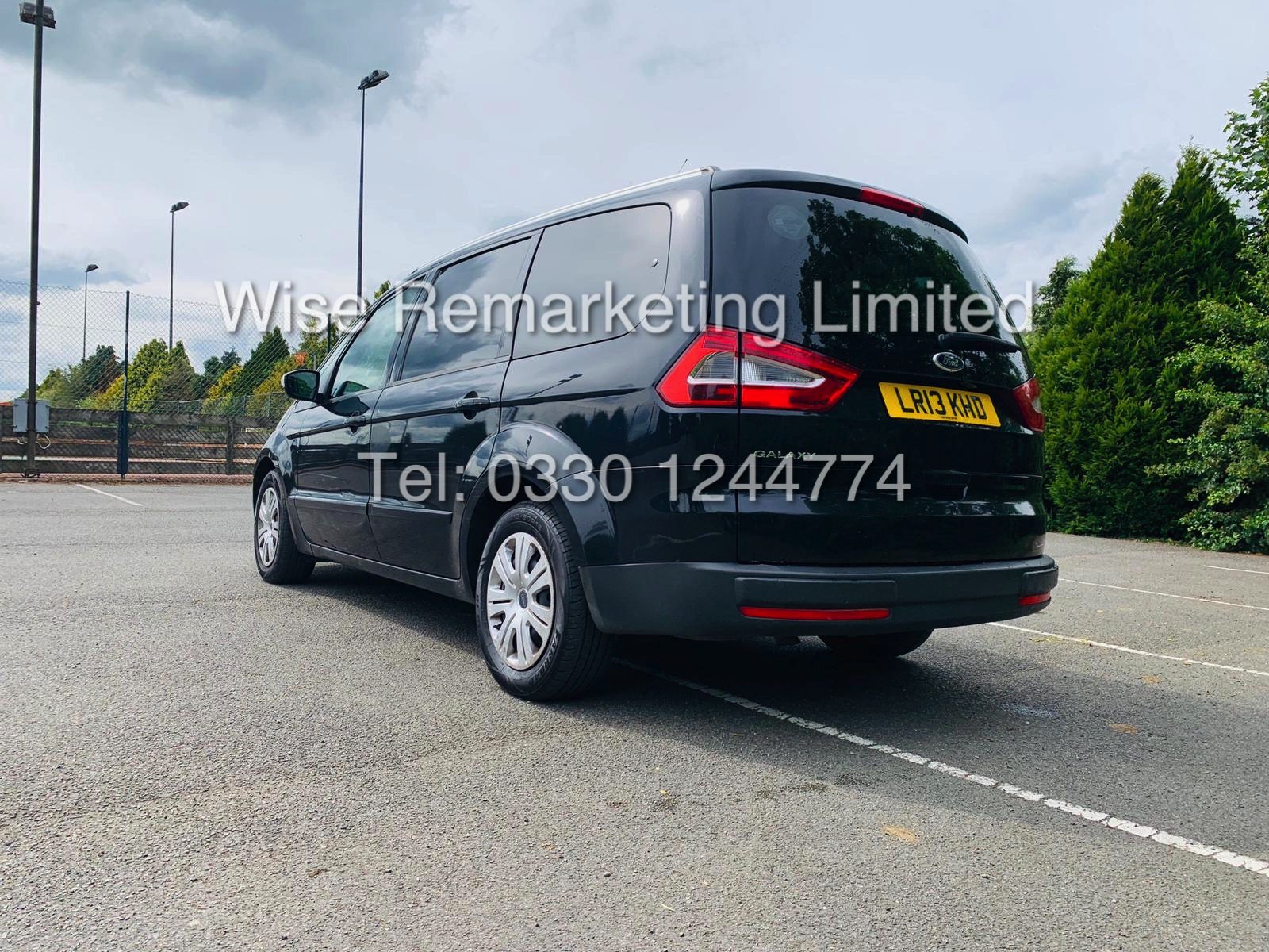 Lot 13 - **RESERVE MET** FORD GALAXY ZETEC 2.0L TDCI 7 SEATER MPV 13 REG / BLACK / PRIVACY GLASS