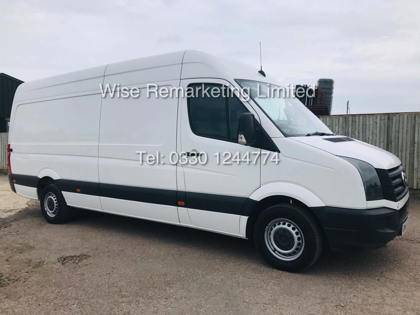 VOLKSWAGEN CRAFTER CR35 2.0 TDI LONG WHEEL BASE 2016 MODEL