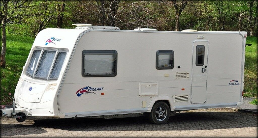 Lot 5A - BAILEY PAGEANT CHAMPAGNE SERIES 6 MODEL**2007**4 BERTH**TOURING CARAVAN***