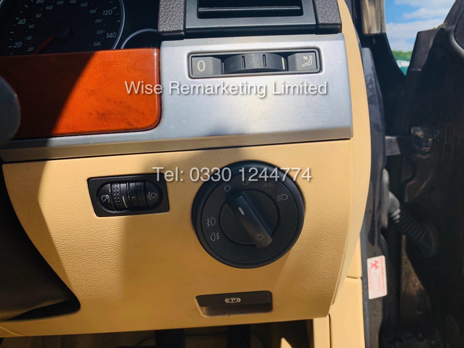 VOLKSWAGEN TOUAREG 2.5 TDI SPORT AUTO 2004 REG 4x4 BLACK - CREAM LEATHER - Image 14 of 24
