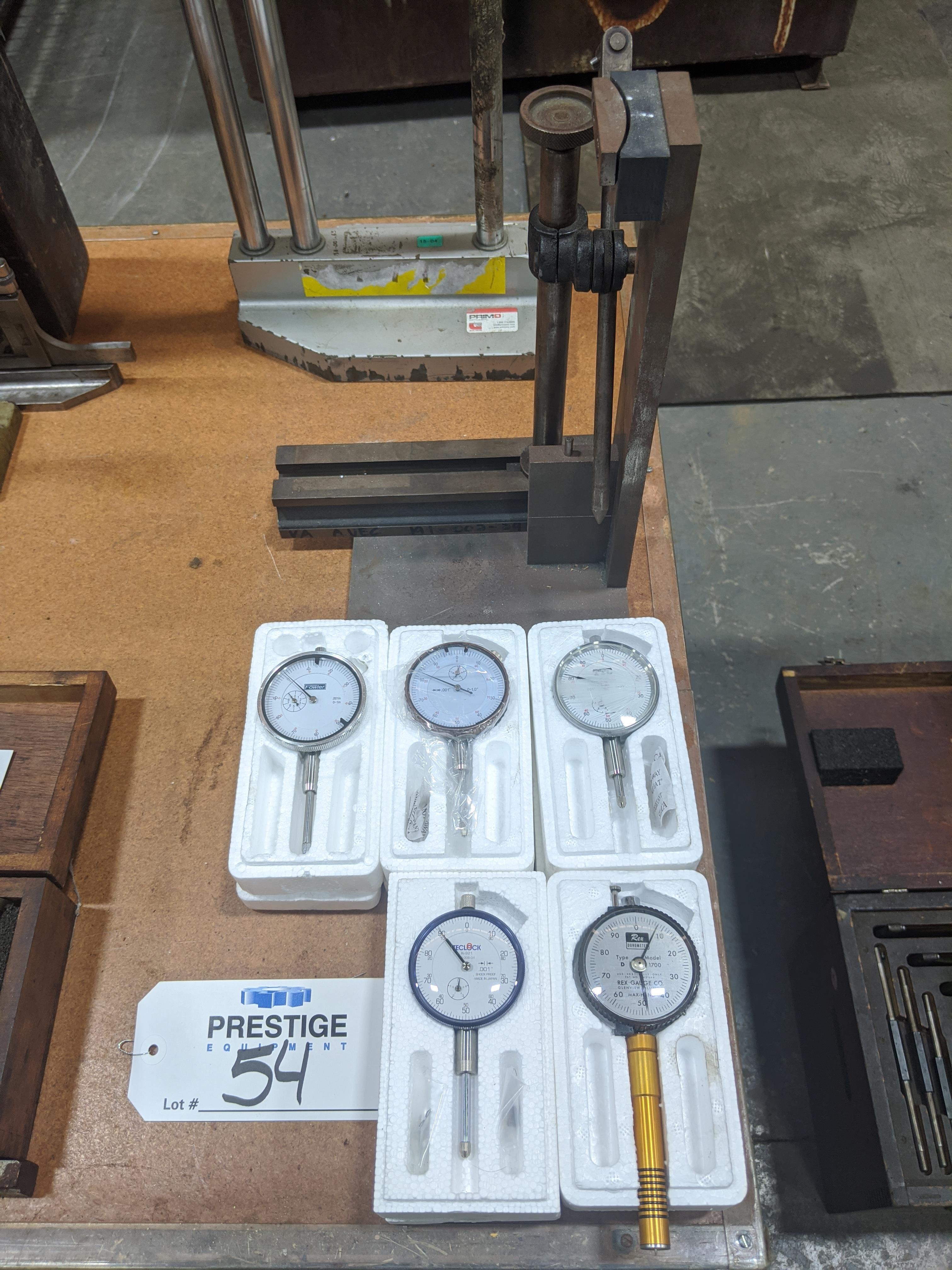 Lot 54 - Assorted Dial Indicators