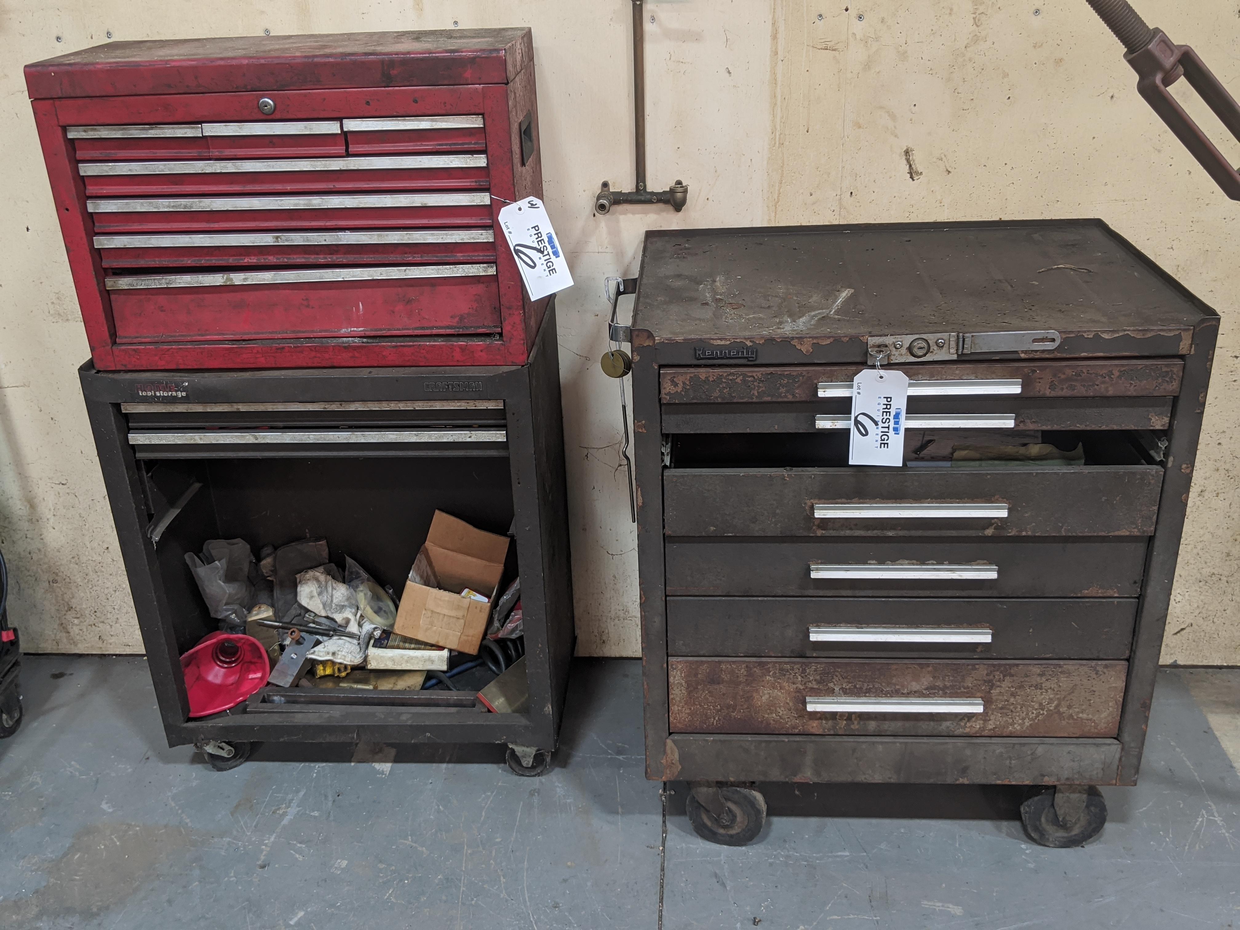 Lot 6 - 7-Drawer Tool Boxes