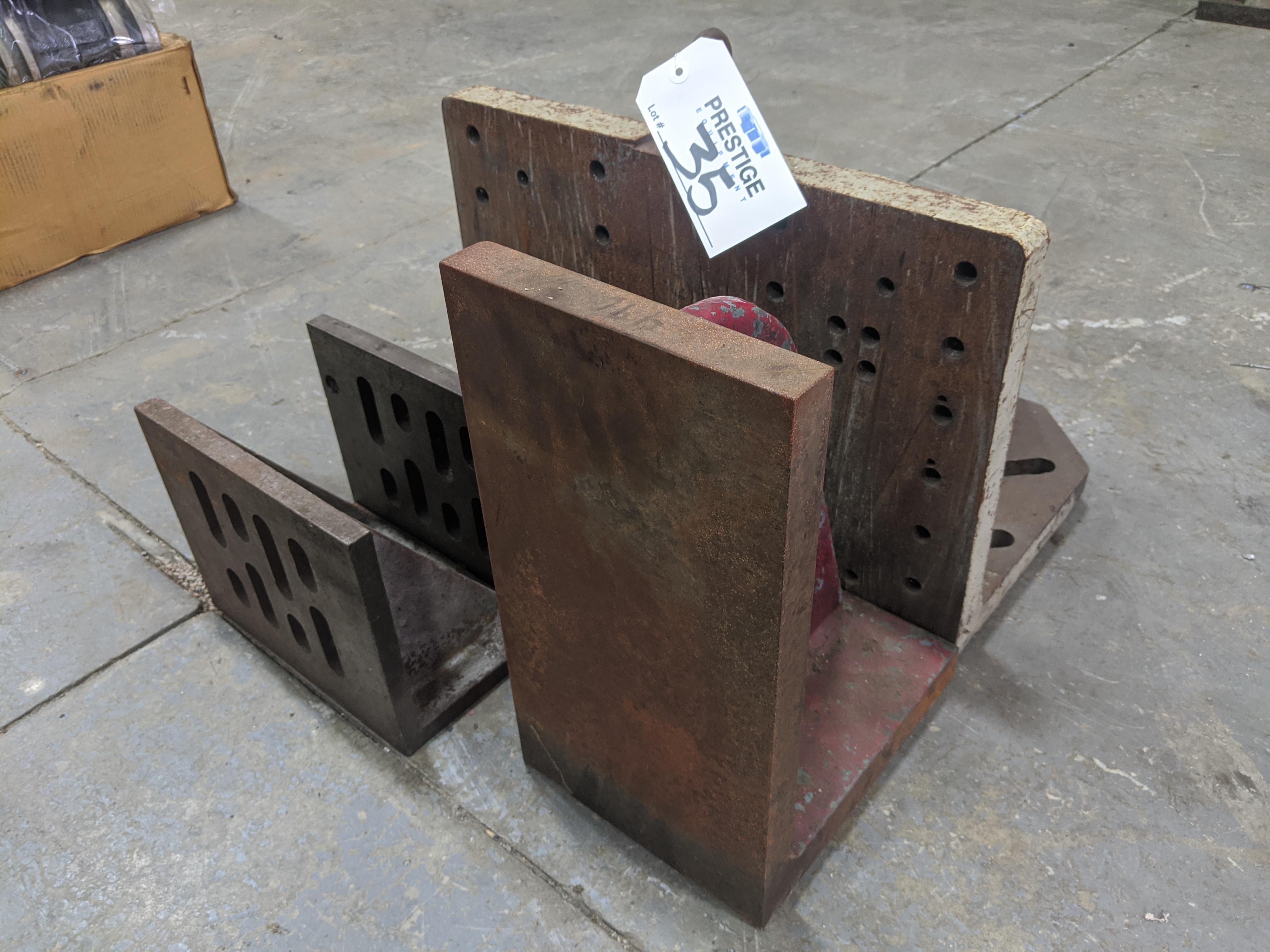 Lot 35 - Angle Blocks