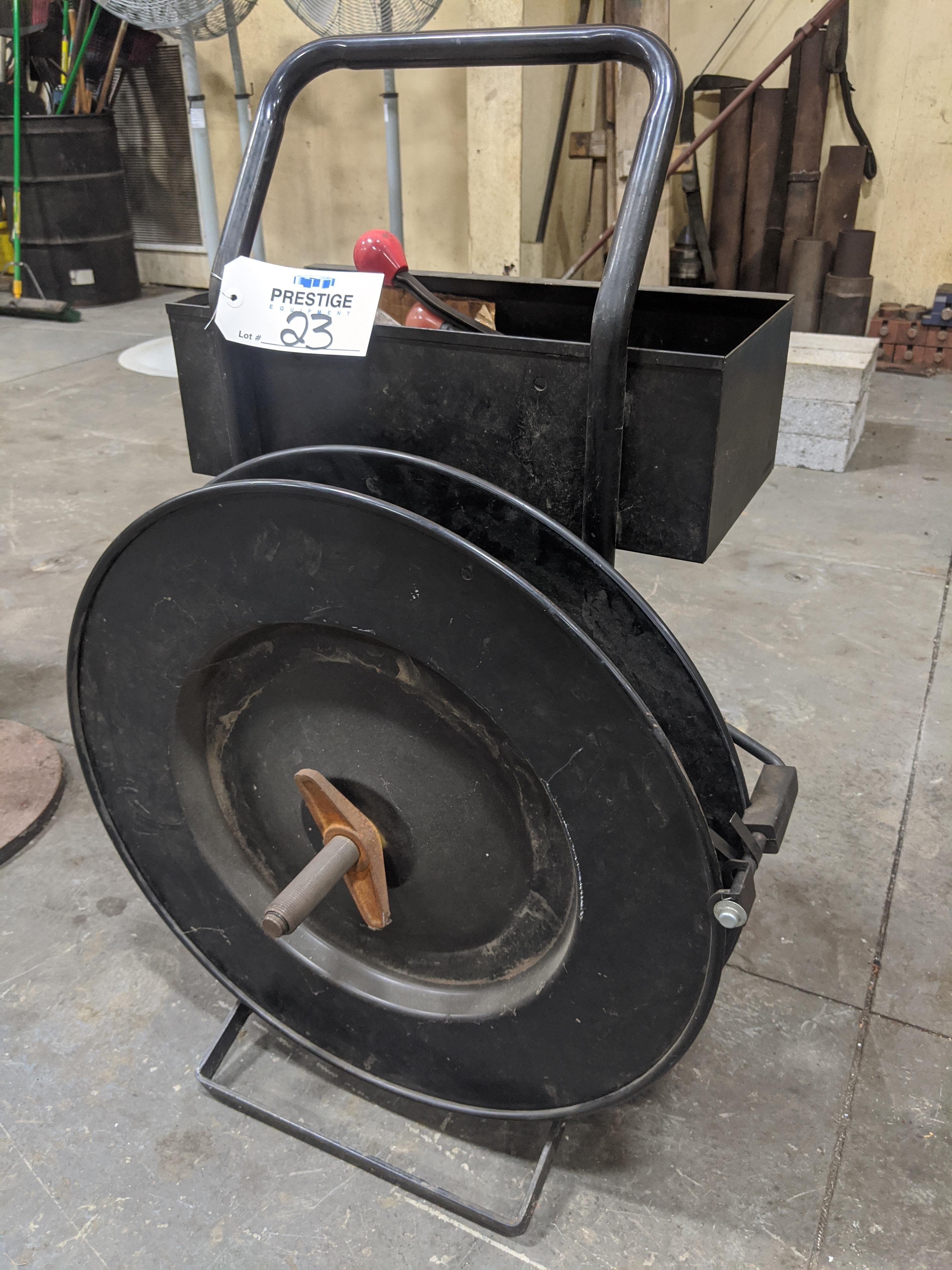 Lot 23 - Signode Banding Cart