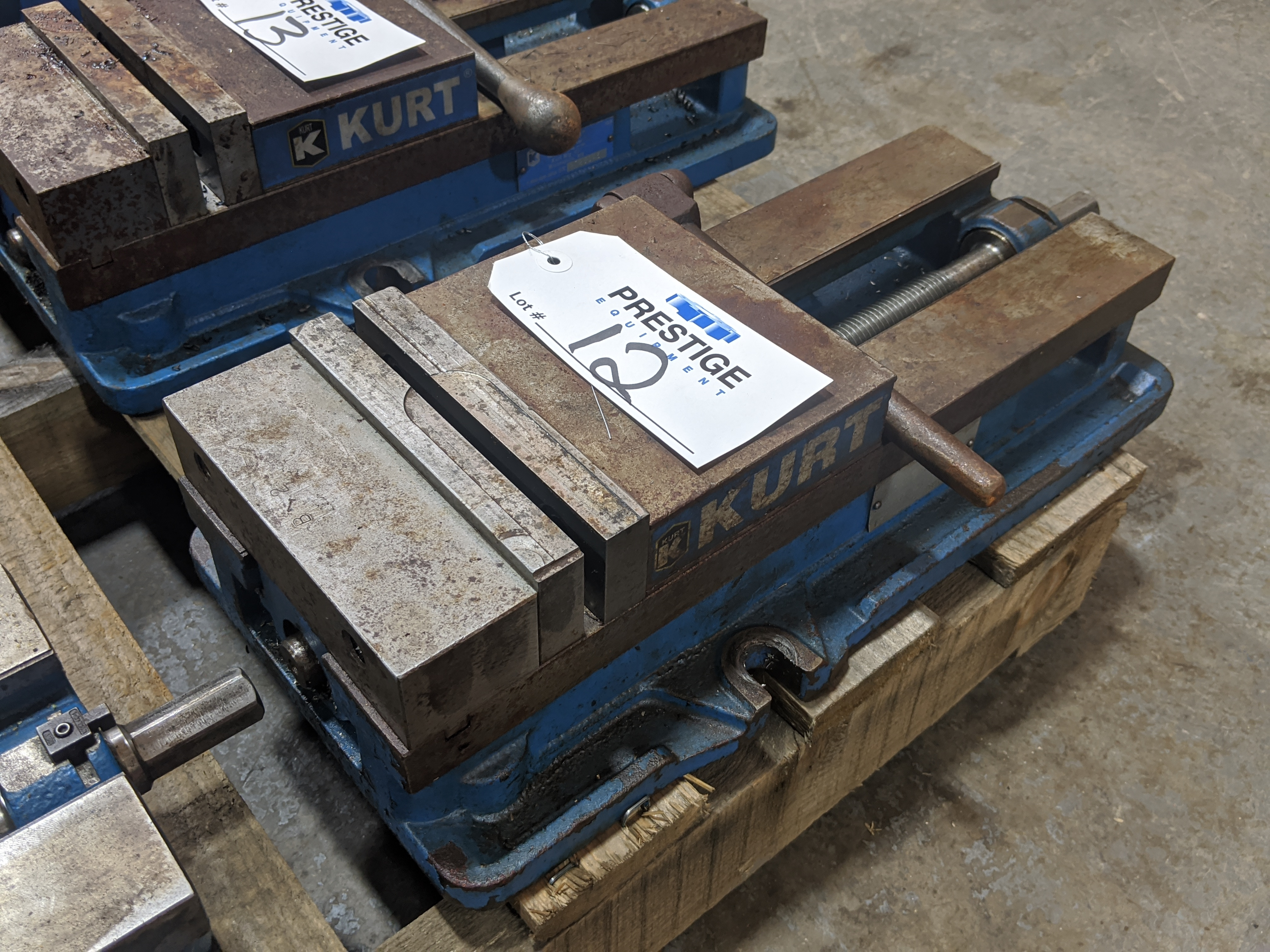 "Lot 12 - Kurt 6"" Machine Vise"