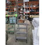 EGA Products 5-Step Mobile Warehouse Ladder