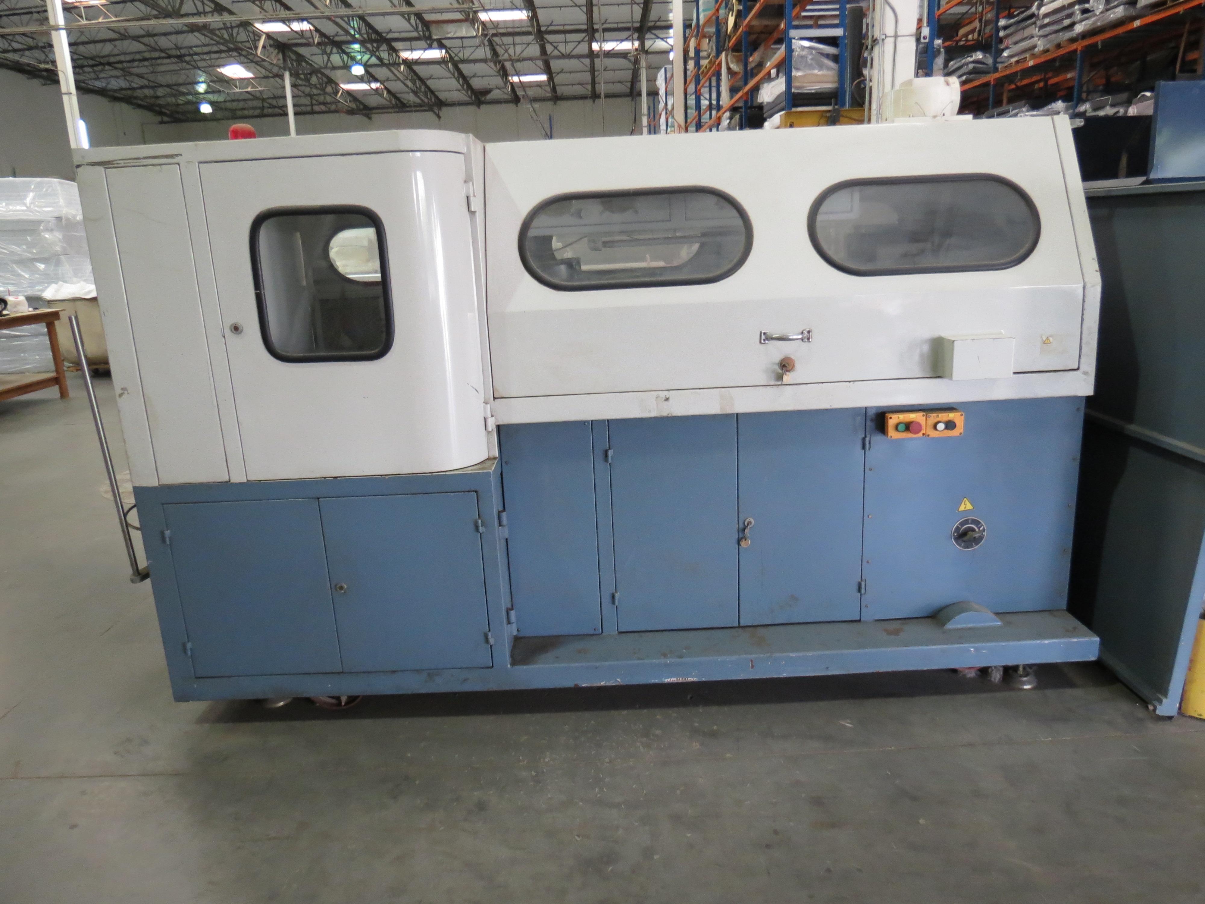 Foshan Yuatian Mattress Machine DZ-6AAutomatic Pocket Spring Machine, 220V, SN:0905005022 - Image 3 of 5